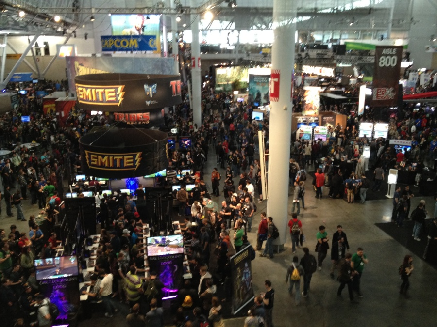 Pax East 2012. If geeks were antisocial, we wouldn't have these yearly cons.