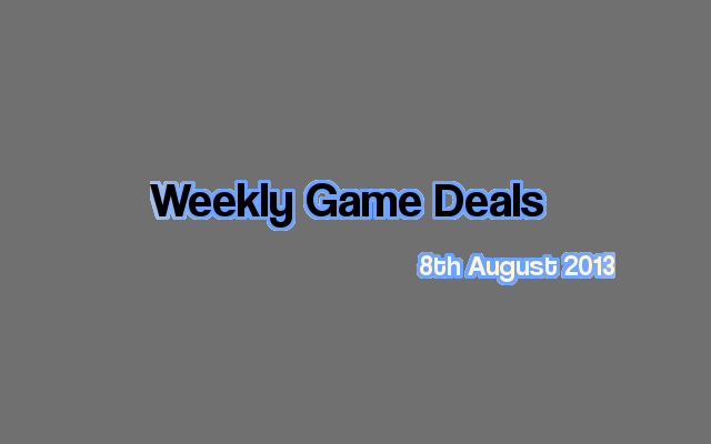 Weekly Game Deals