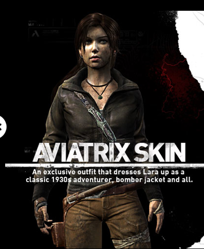 One of TombRaider's skin DLCs