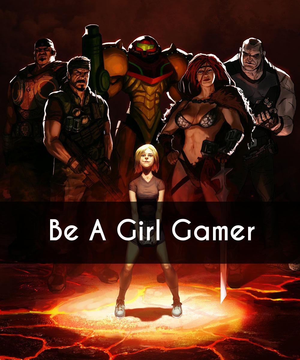 Gamer Girl, by Poojipoo, DeviantArt.