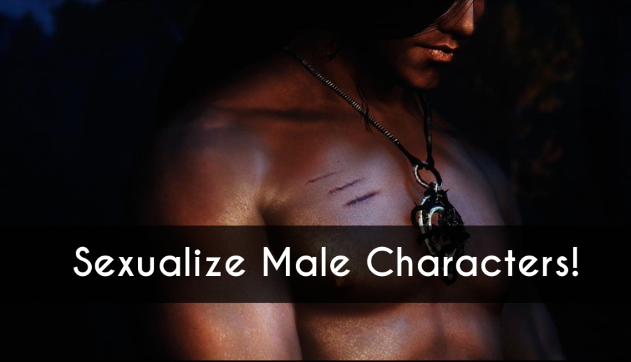 sexualize male characters